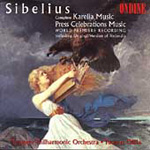Sibelius: Karelia Music; Press Celebrations Music (CD)