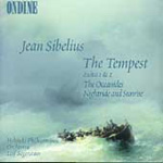 Sibelius: Oceanides; Tempest Suites 1 & 2; Nightride & Sunrise. (CD)