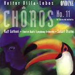 Produktbilde for Villa-Lobos: Chôros No 11 for Piano and Orchestra (CD)