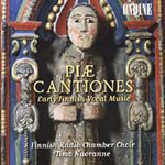Piae Cantiones - Early Finnish Vocal Music (CD)