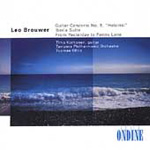 Brouwer: Guitar Concerto No 5; From Yesterday to Penny Lane (CD)