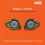 Produktbilde for Lindberg, M: Clarinet Concerto; Gran Duo; Chorale (CD)