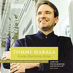 Tommi Hakala - Great Baritone Arias (CD)