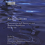 Produktbilde for Saariaho: Cinq reflets; Nymphea Reflection; Oltra mar (CD)