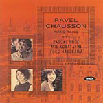 Chausson; Ravel: Piano Trios (CD)