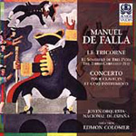 Falla: Ballet & Orchestral Works (CD)
