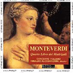 Monteverdi: Madrigals, Book 4 (CD)