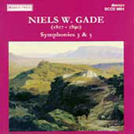 Gade: Symphonies Nos 3 and 5 (CD)