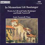 In Memoriam Lili Boulanger (CD)
