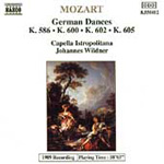 Mozart: German Dances (CD)