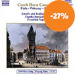 Produktbilde for Czech Horn Concertos (CD)