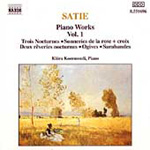 Satie: Piano Works, Vol. 1 (CD)