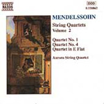 Mendelssohn: String Quartets, Volume 2 (CD)