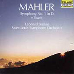 Produktbilde for Mahler: Symphony No 1 (UK-import) (CD)