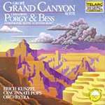 Produktbilde for Grofé: Grand Canyon Suite. Gershwin: Porgy & Bess Suite (UK-import) (CD)