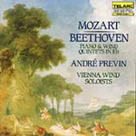 Beethoven; Mozart: Quintets for Piano & Wind Instruments (CD)