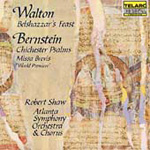 Walton & Bernstein: Choral Works (CD)