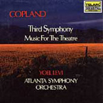 Copland: Symphony No. 3; Music for Theatre (CD)