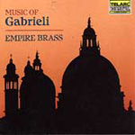 Music of Gabrieli & His Contemporaries (CD)