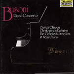 Busoni: Piano Concerto in C (CD)