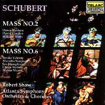 Schubert: Masses, D167 & D950 (CD)