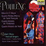 Poulenc: Choral Works (CD)