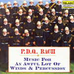 P.D.Q. Bach: Music for an Awful Lot of Winds & Percussion (CD)