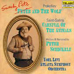 Sneaky Pete & the Wolf; Carnival of the Animals (CD)
