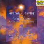 Appear & Inspire-Choral Works (CD)