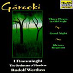 Górecki: Vocal and Orchestral Works (CD)