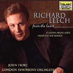 Richard Leech: From the Heart - Italian arias and songs (CD)