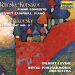 Produktbilde for Rimsky-Korsakov: Piano Concerto; Tchaikovsky: Symphony No 3 (USA-import) (CD)