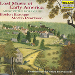 Produktbilde for Lost Music of Early America: Music of the Moravians (USA-import) (CD)