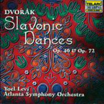 Dvorák: Slavonic Dances, Opp 46 & 72 (CD)
