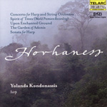 Hovhaness - Chamber & Orchestral Works for Harp (CD)