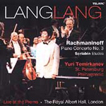 Lang Lang - Rachmaninov: Concerto for Piano No 3; Scriabin: Etudes (CD)