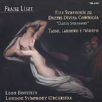 Produktbilde for Liszt: A Dante Symphony (UK-import) (CD)