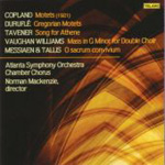 Produktbilde for Copland; Duruflé: Motets;Tavener: Song for Athene (USA-import) (CD)