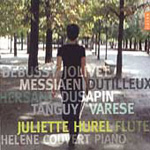 Debussy/Dusapin/Dutilluex: Flute and Piano Works (CD)