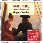 Schubert: Piano Sonatas, D894 & D960 (CD)