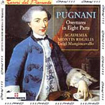 Pugnani: Overtures in Eight Parts (CD)