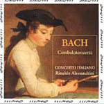 Bach: Harpsichord Concertos, Vol. 1 (CD)