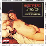 Monteverdi: Madrigals, Book 5 (CD)