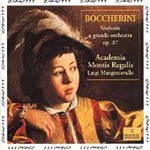 Boccherini: Symphonies, Op 37 Nos 1,3 and 4 (CD)