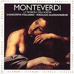 Monteverdi: Le Passioni dell'anima (CD)