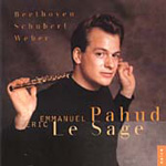 Beethoven; Schubert; Weber: Flute Works (CD)
