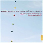 Mozart: Clarinet Quintet (CD)
