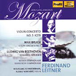 Produktbilde for Bruch; Mozart; Beethoven: Works for Violin and Orchestra (CD)