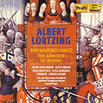 Lortzing: The Armorer of Worms (CD)