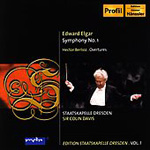 Elgar: Symphony No 1; Berlioz: King Lear Overture (CD)